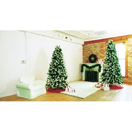 Perfect Shape 7 5ft Grand Fir Lighted Christmas Tree Ace 15031f0 Christmas Trees Christmas Tree Lighting Grand Fir Christmas Tree
