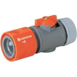 GARDENA 2-Wege-Verteiler Anschlussmöglichkeit für 2 Geräte an den Wasserhahn p