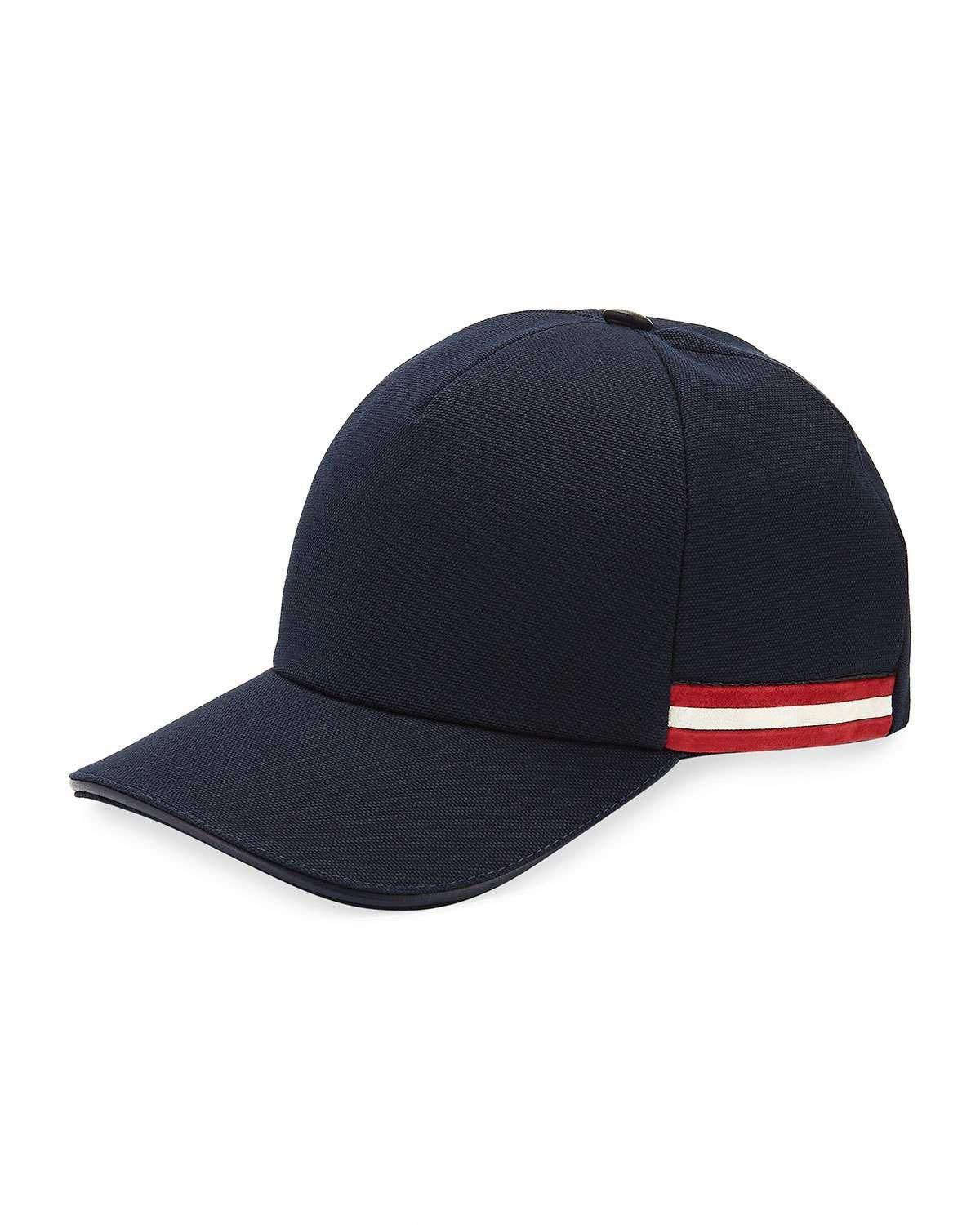 e5a158423b4 Bally Baseball Hat with Trainspotting Striped Trim  baseballhats ...