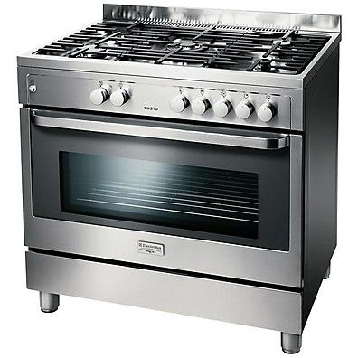 Rkg 901099x Rex Cucina 5 Fuochi A Gas Inox