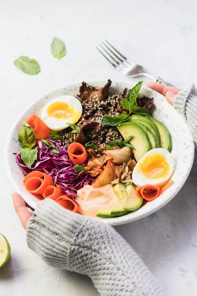 Beef Bulgogi Bowls | Recipe | Bulgogi, Healthy pasta ...