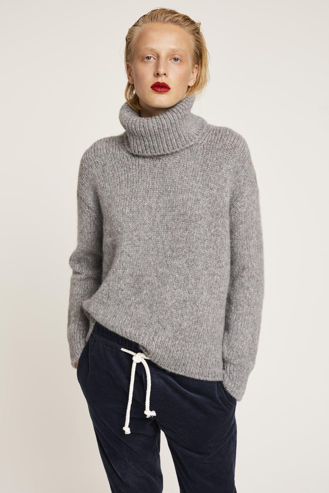 51514a3a5bfa Royal Baby Alpaca Mix Turtleneck Sweater