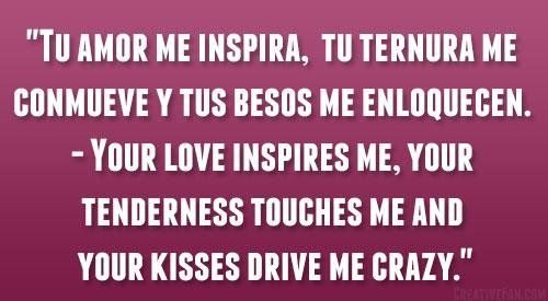 Spanish Love Quotes Endearing Spanish Love Pictures Quotes  Funny Pictures  Pinterest  Funny