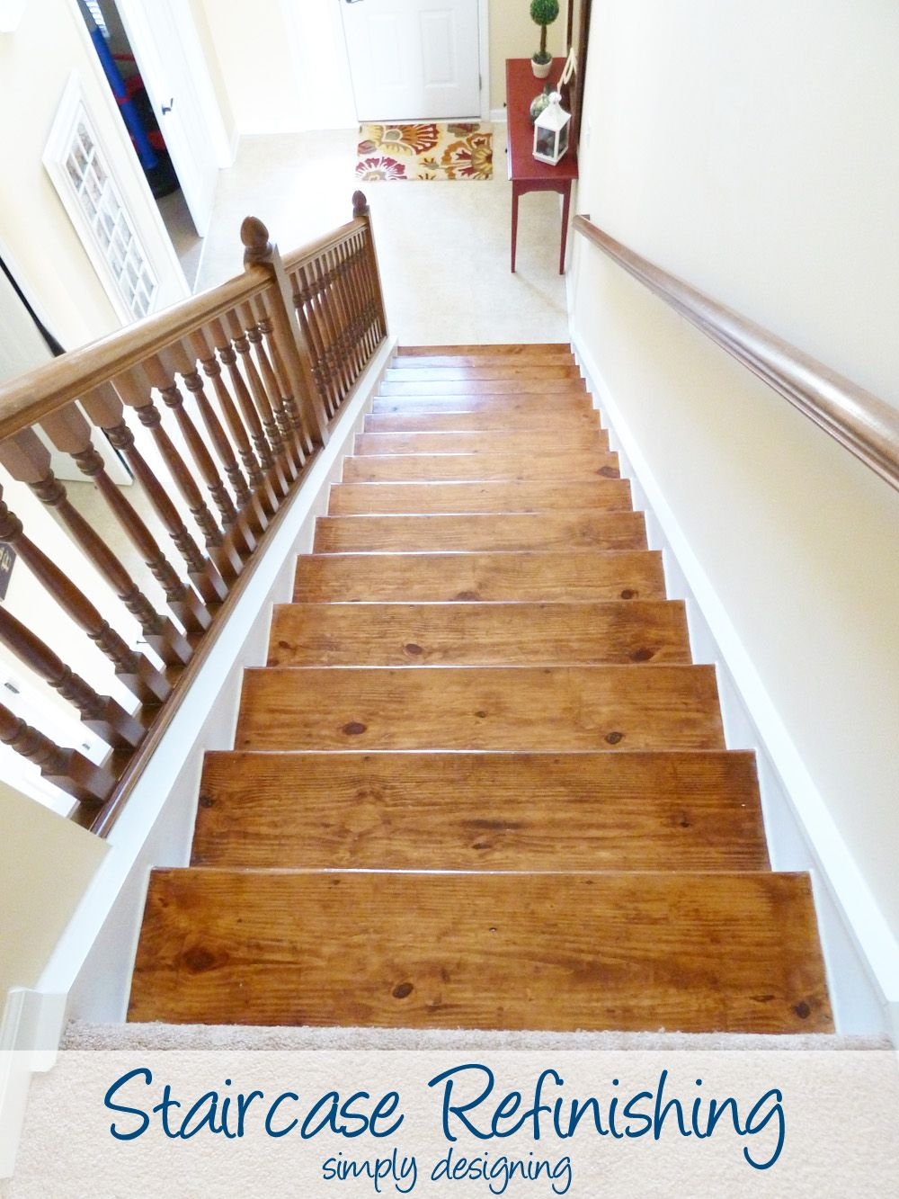Lovely Staircase Refinishing Part 6 | Step By Step Instructions On How To Rip Up  Carpet And