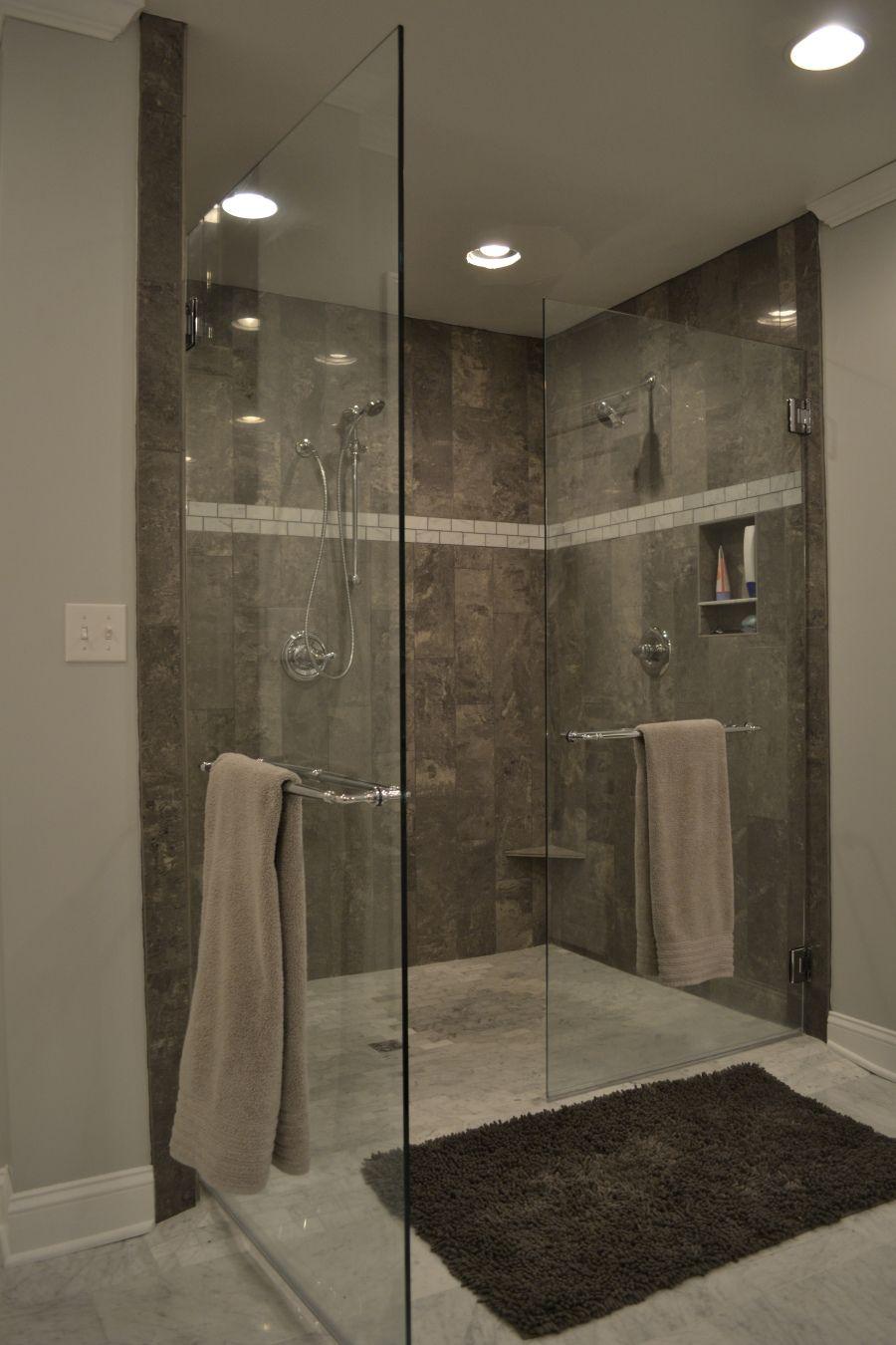 On Wordpress Com Gray Shower Tile Grey Bathroom Tiles Bathrooms Remodel