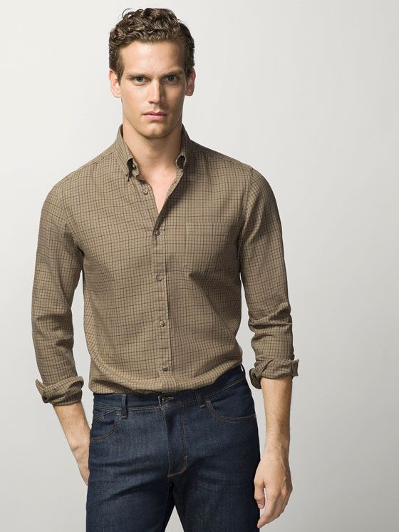 b1470f43bb140 tendencias-camisas-hombre-2016-camisa-cuadro-massimo-dutti