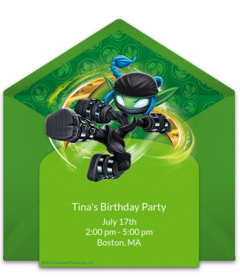 A Collection Of FREE Skylanders Party Invitations We Love This Design For Birthday Digital Template Thats Easy To Personalize And