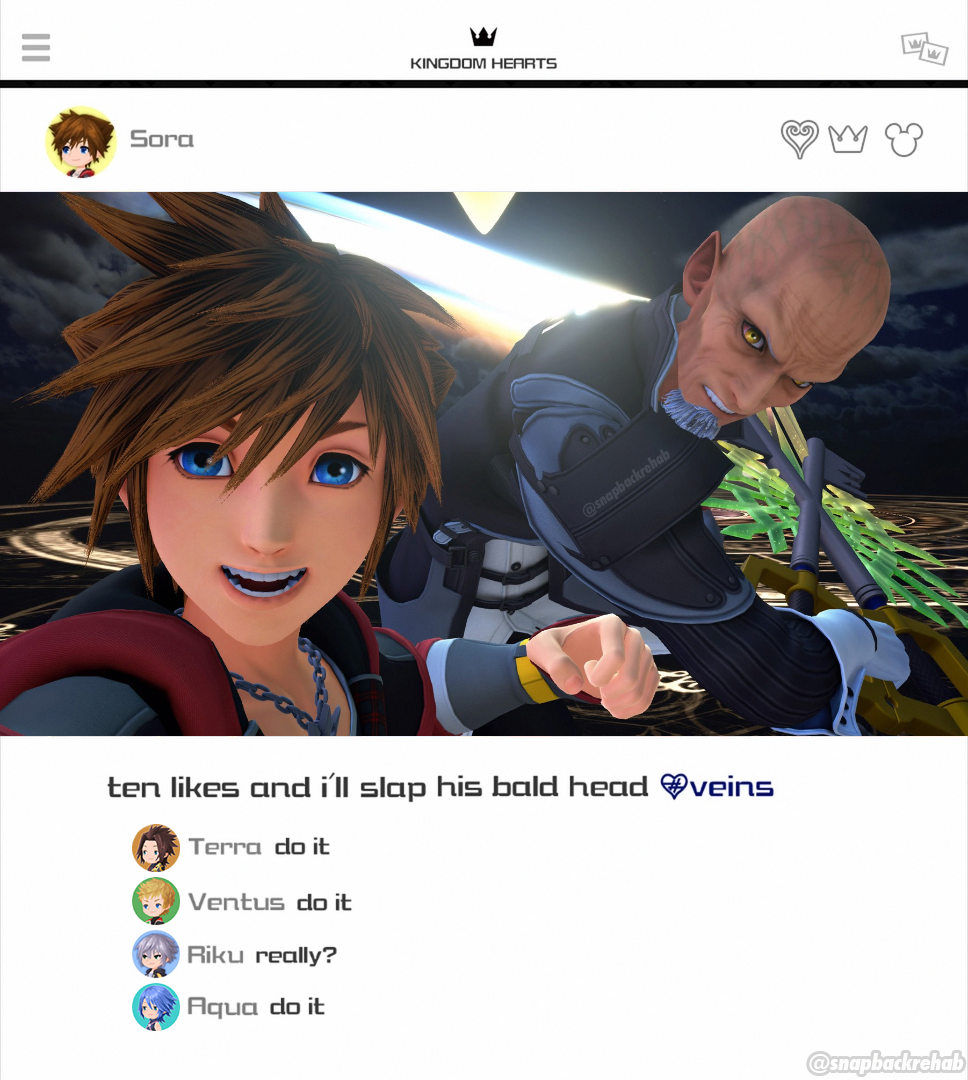 Kh3 A More Realistic Approach To Kingstagram Spoiler Kingdom