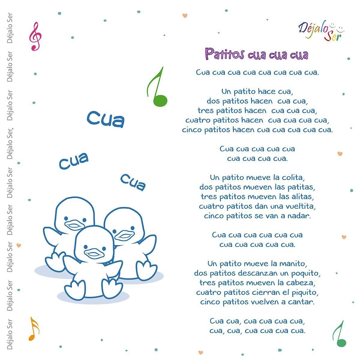 21 Ideas De Canciones Infantiles Canciones Infantiles Canciones Letras De Canciones Infantiles