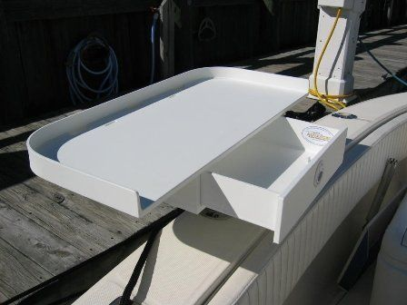Bait Filet Table 30 Quot With Drawer By Apf Marine 395 00