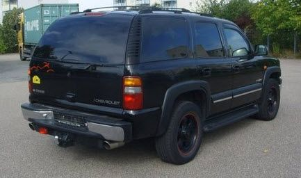 2002 Chevrolet Tahoe Lt Premium With 2 5 Dual Exhaust Pipes And Borla Muffler For A Nice Sound Tahoe Lt Chevrolet Tahoe Chevrolet