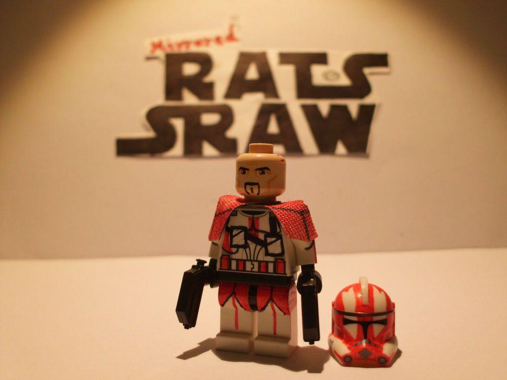 Lego Star Wars minifigures - Clone Custom Troopers - Commander Ganch ...