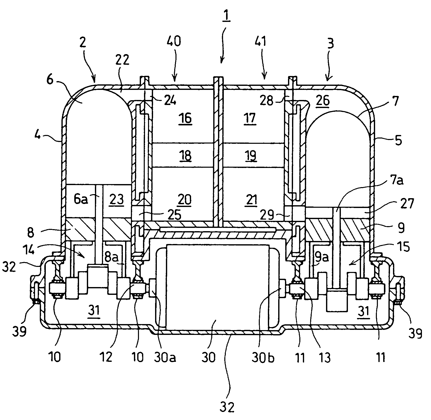 multistage stirling engine us 7484366 b2 patent drawing [ 1712 x 1668 Pixel ]
