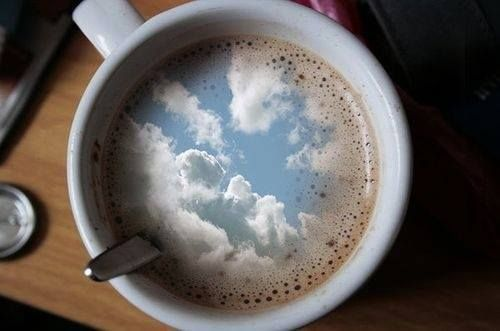 Day Dreaming in my Coffee