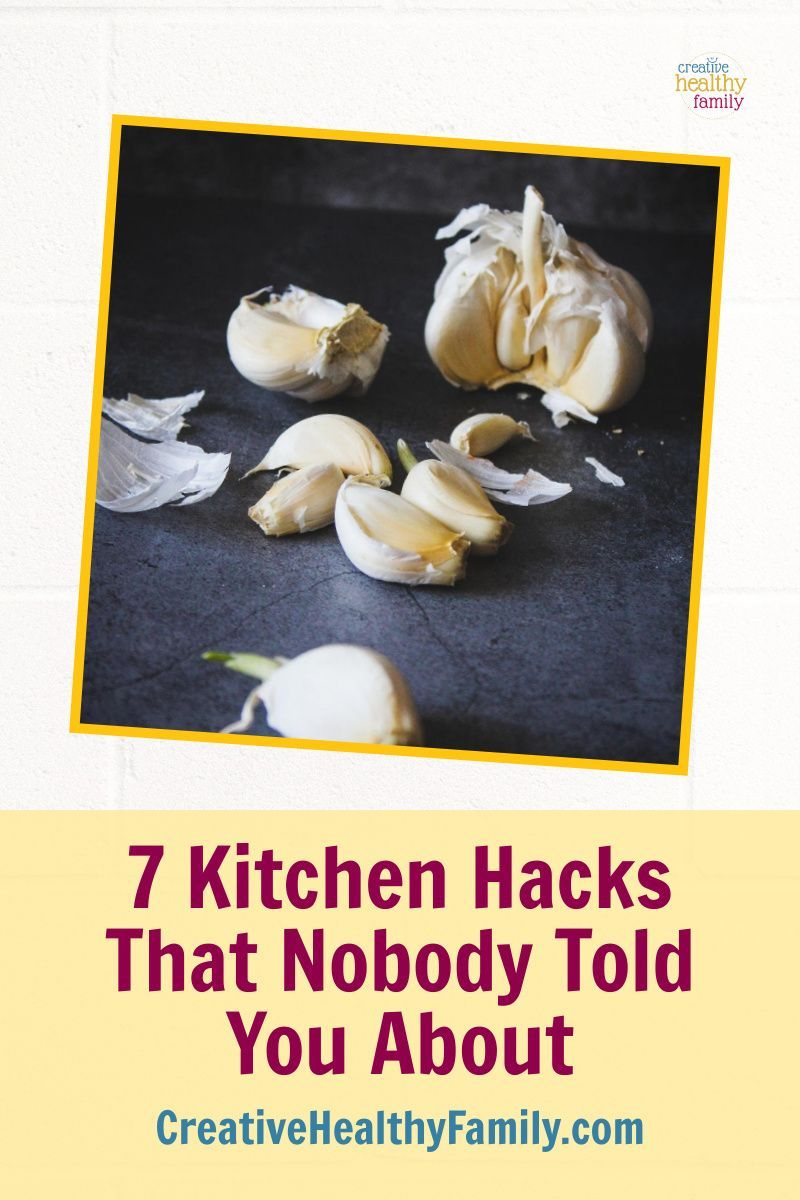 7 Kitchen Hacks That Nobody Told You About Creative