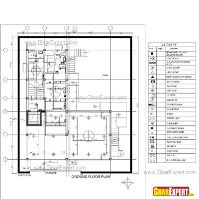 Pin By Betty Alemu On Drawings For Reference Plumbing Drawing Electrical Layout How To Plan