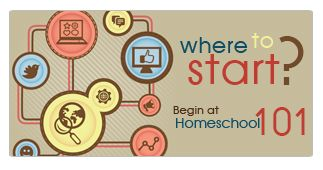 Considering homeschooling? Don't know how to begin? Visit Homeschool 101