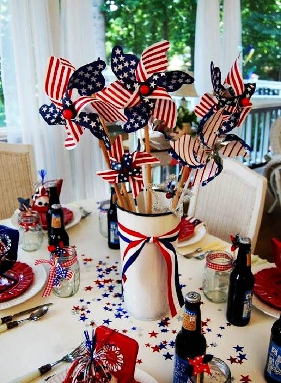 4th July Decorating Ideas For Party Table Pinterest Pictures 4th