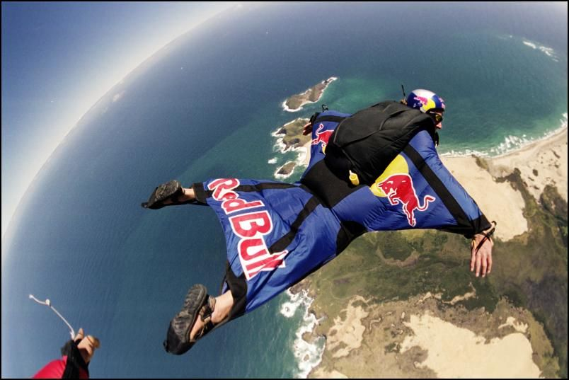 Put on a wing suit and jump out of a plane! Extreme