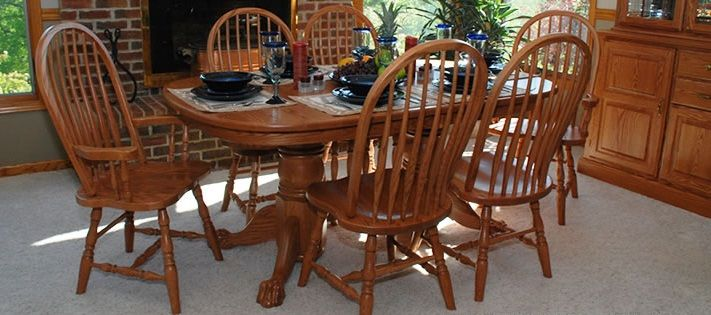 Room Traditions Dining Set By Oakwood At Crowley Furniture In Kansas City