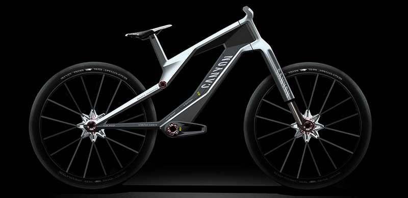 Canyon Orbiter E Bike Concept Bicycle Design Urban Concept Ebike