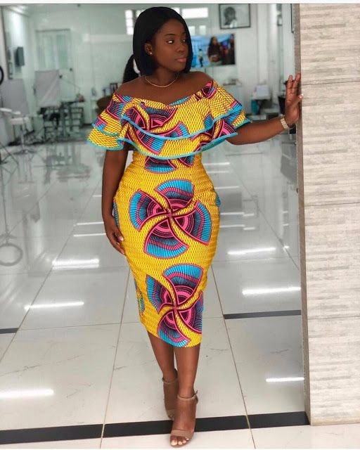 Latest News In Nigeria: 10+ Latest Ankara Short Gown Styles 2019 To Wow This