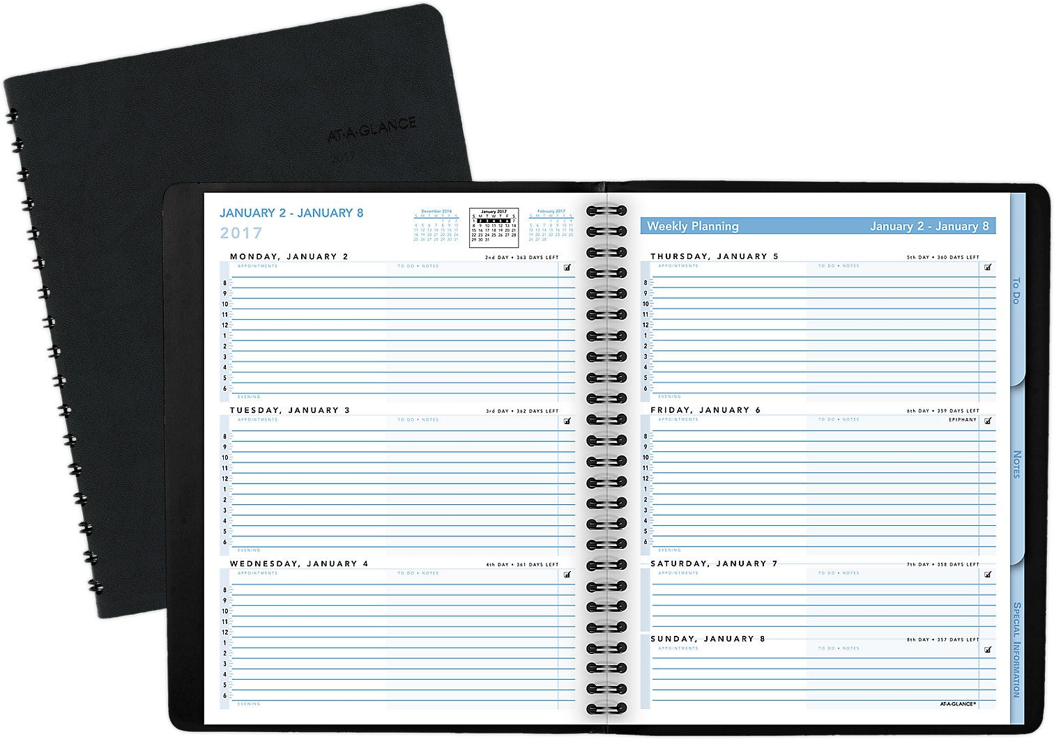 Manage A Busy Schedule With This Daily Appointment BookPlanner