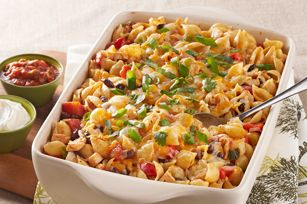 Enchilada Pasta Bake recipe