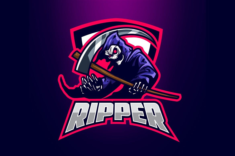 Esports Grim Reaper Logo By Suhandi On Envato Elements Art Logo Esports Logo Grim Reaper