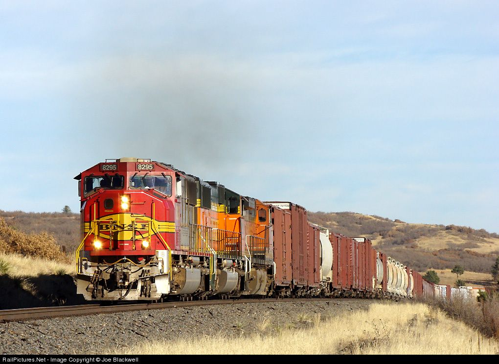 RailPictures.Net Photo: BNSF 8295 BNSF Railway EMD SD75I at Tomah, Colorado by Joe Blackwell