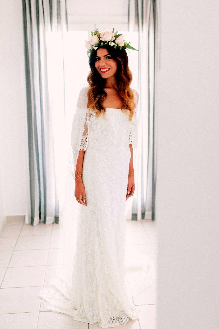 Boho Off Shoulder Fully Lace Unique Simple Beach Wedding Dresses Db0124 Wedding Dresses Simple Wedding Dress Beach Beach Wedding Dress [ 1350 x 900 Pixel ]