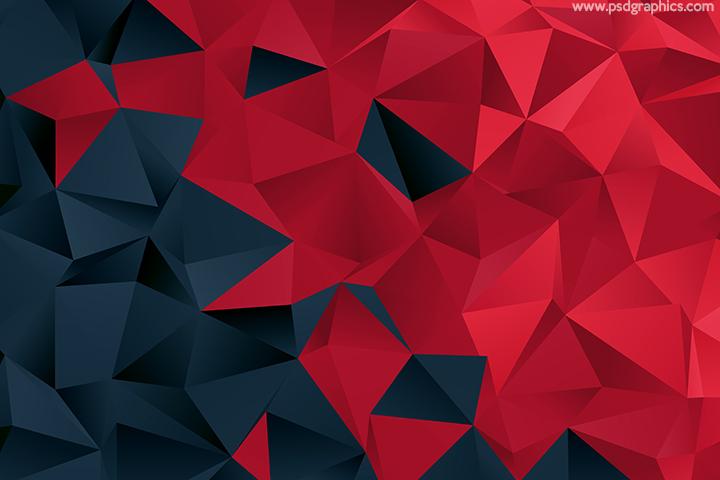 Red Triangular Pattern In 2021 Triangular Pattern Triangular Black And Red