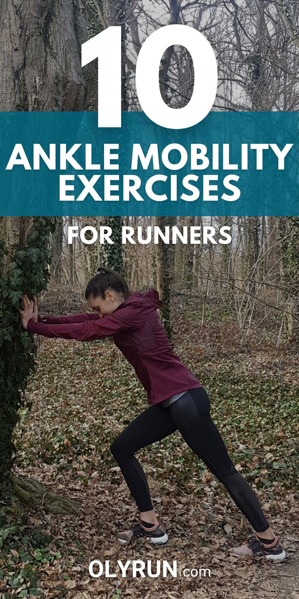 10 Ankle Mobility Exercises for Runners | OLYRUN