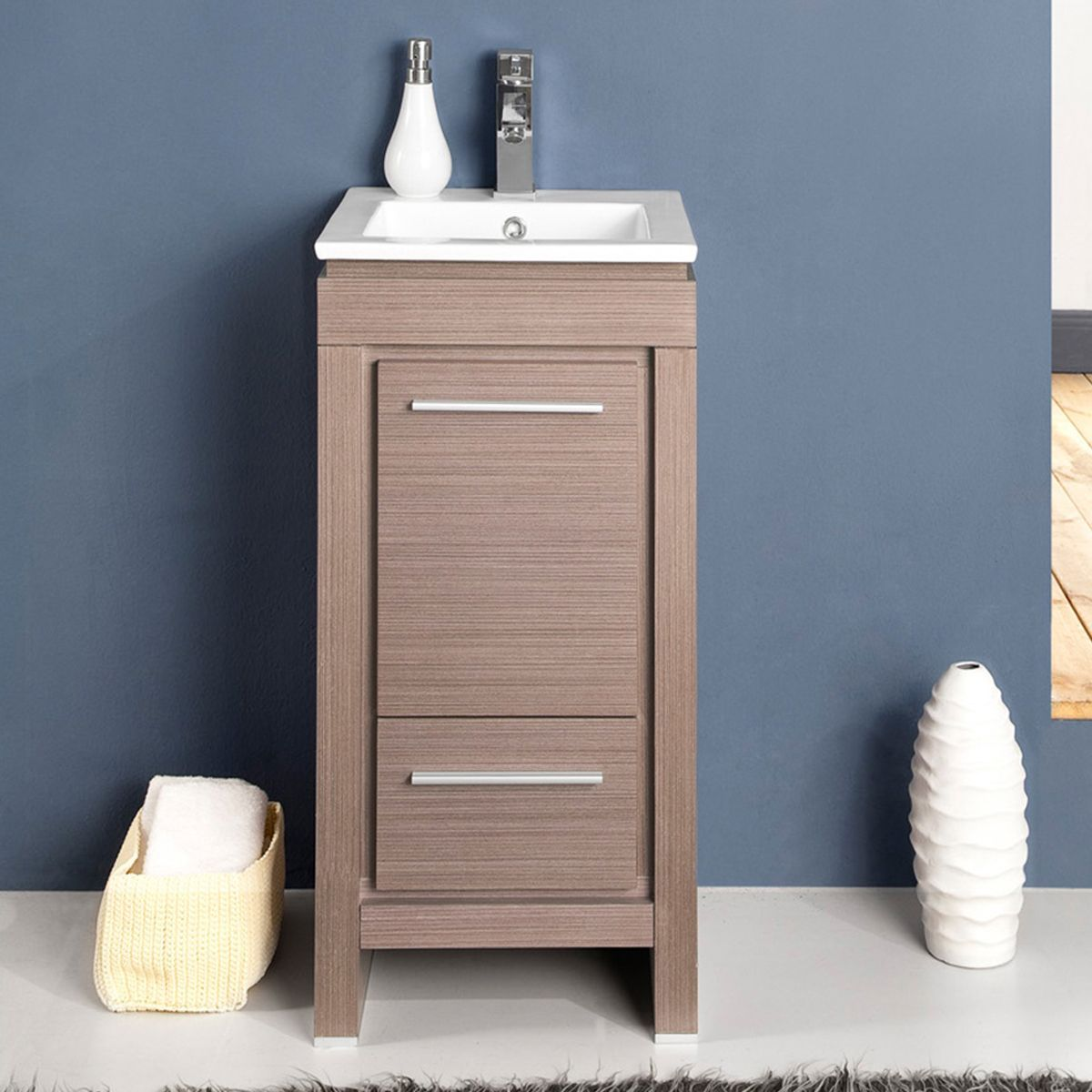 Narrow Bathroom Vanities With 8 18 Inches Of Depth Modern Bathroom Cabinets Bathroom Vanity Small Bathroom Vanities