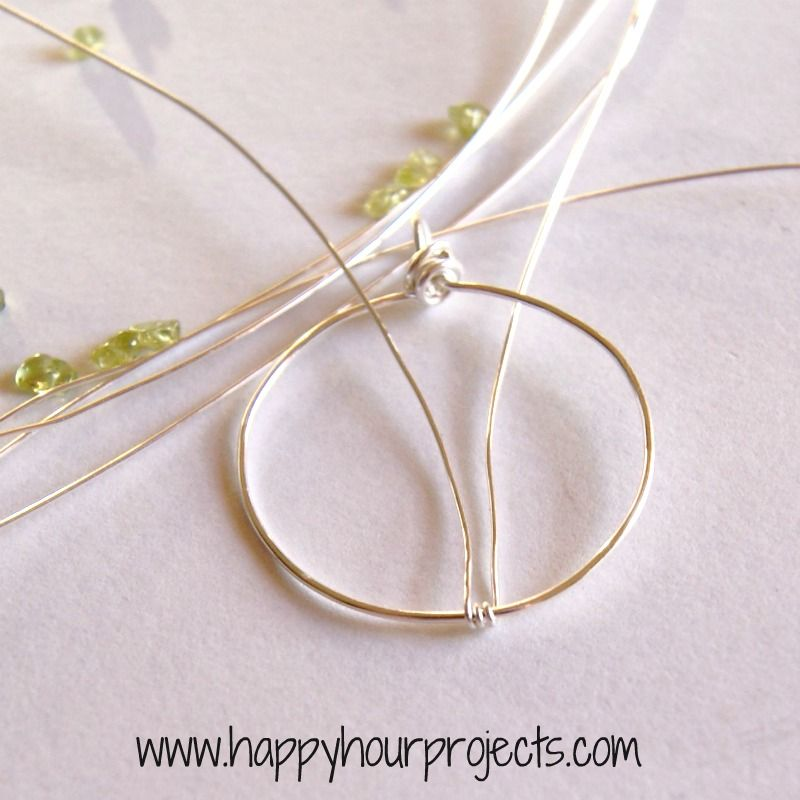 Happy Hour Projects: Wire-Wrapped Tree Necklace- Excellent set of ...