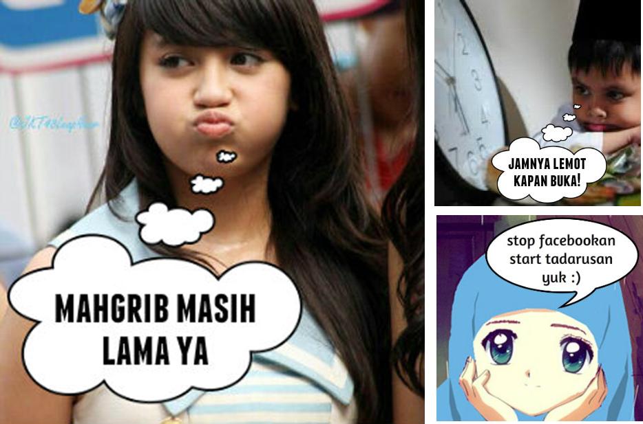 Kumpulan Dp BBM Meme Lucu Sahur Buka Puasa Ramadan Dp Gambar
