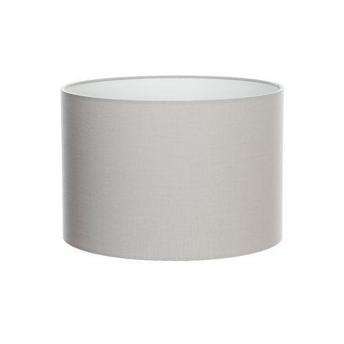 Cotton Drum Lamp Shade Orren Ellis Colour Light Grey Size 23cm H X 35cm W D