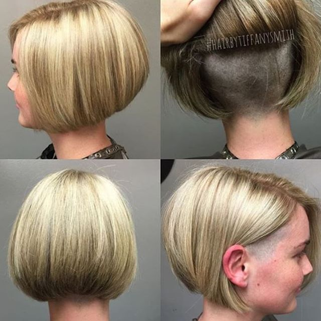 Bobbin Buzzin Bobcut Sidecut Undercut Thx Hairbytiffanysmith Undercut Hairstyles Short Hair Styles Bob Hairstyles