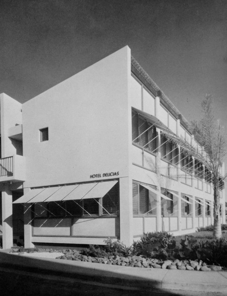 Hotel Delicias Fajardo Puerto Rico 1958