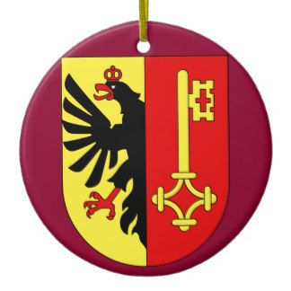 Geneva*, Switzerland Christmas Ornament