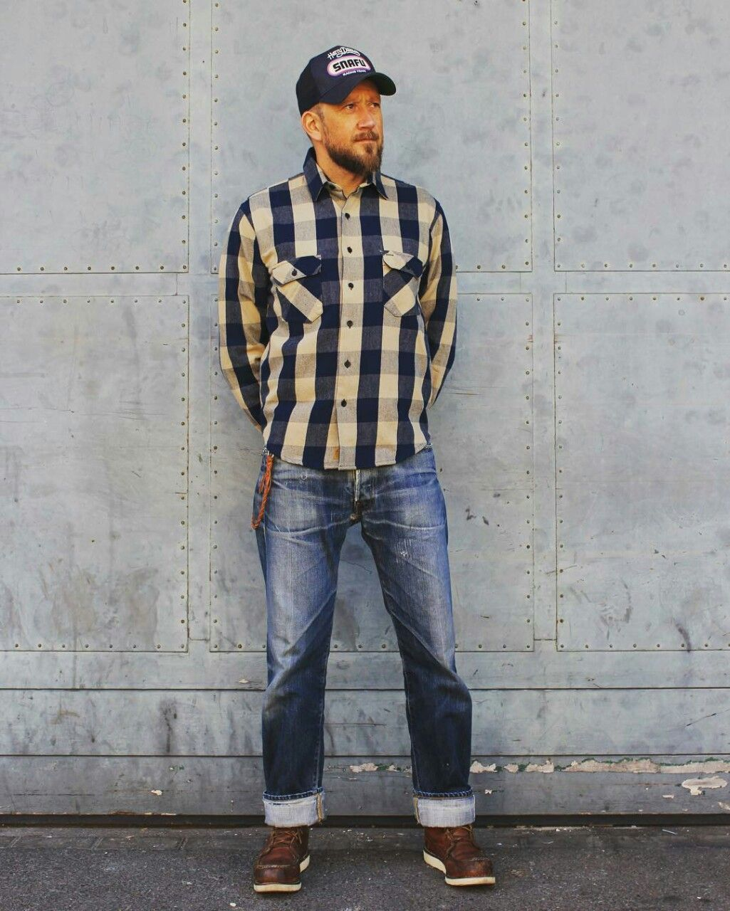 Important: we are not affiliated with Red Wing Shoe Co.   vintage outfits men semi
