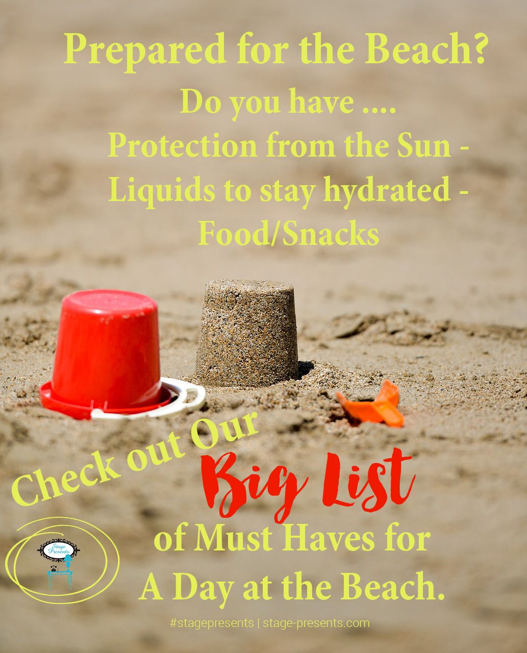Prepare for A Day At the Beach with Beach Must Haves