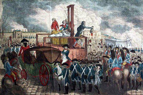 Décapitation de Louis XVI. 21 janvier 1793 : le roi Louis XVI est guillotiné. Histoire de France. Patrimoine. Magazine