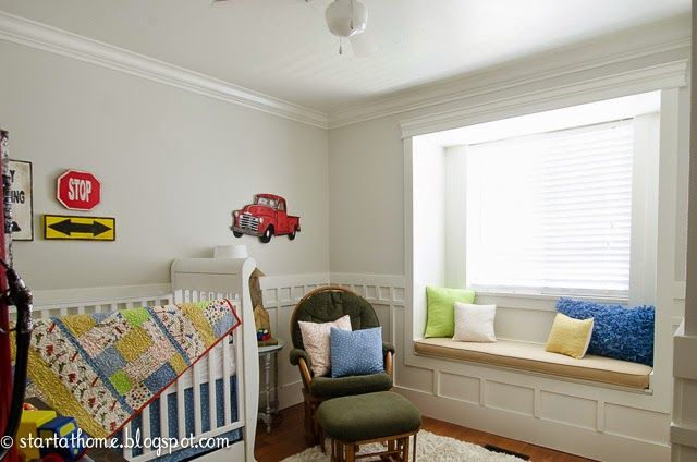 Panca sotto la finestra idee creative pinterest baby brothers and nursery - Panca sotto finestra ...