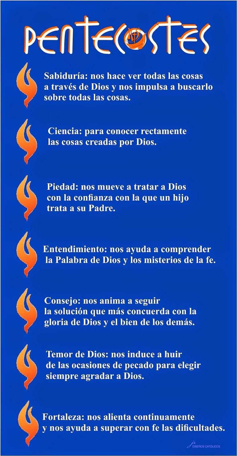 Pentecostés Los Dones Del Espíritu Santo Imagen Dones