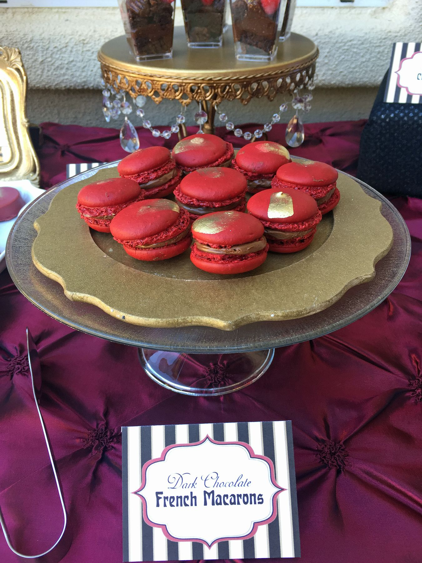 Moulin rouge party moulin rouge party pinterest - Moulin Rouge Party La Dolce Idea Weddings Soirees San Diego Cake Pop Shop
