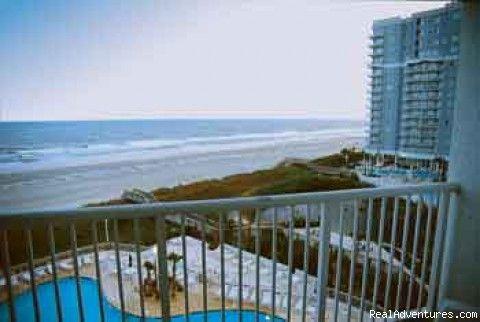 Myrtle Beach Sc Balcony View Wonderful Vacation Memories