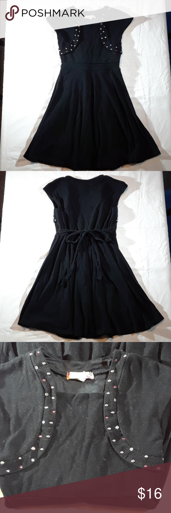 Speechless girls black dress girls black dress size and flaws