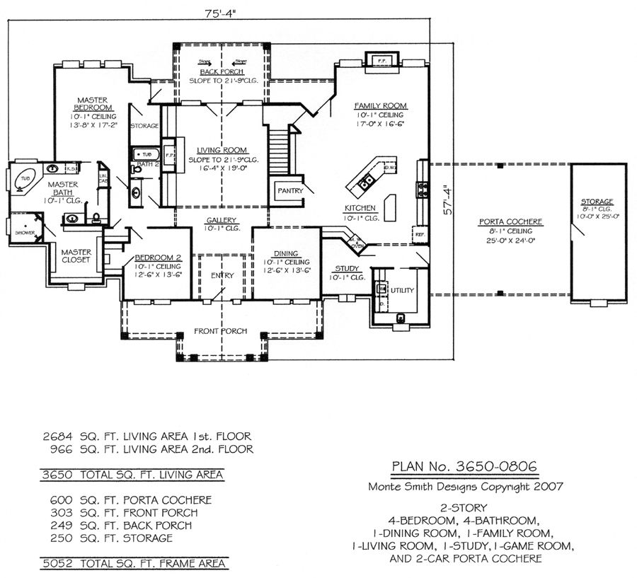 3650 0806 House Plan Design Online Texas And Hawaii Offices Floor Plans House Plans Bedroom Floor Plans