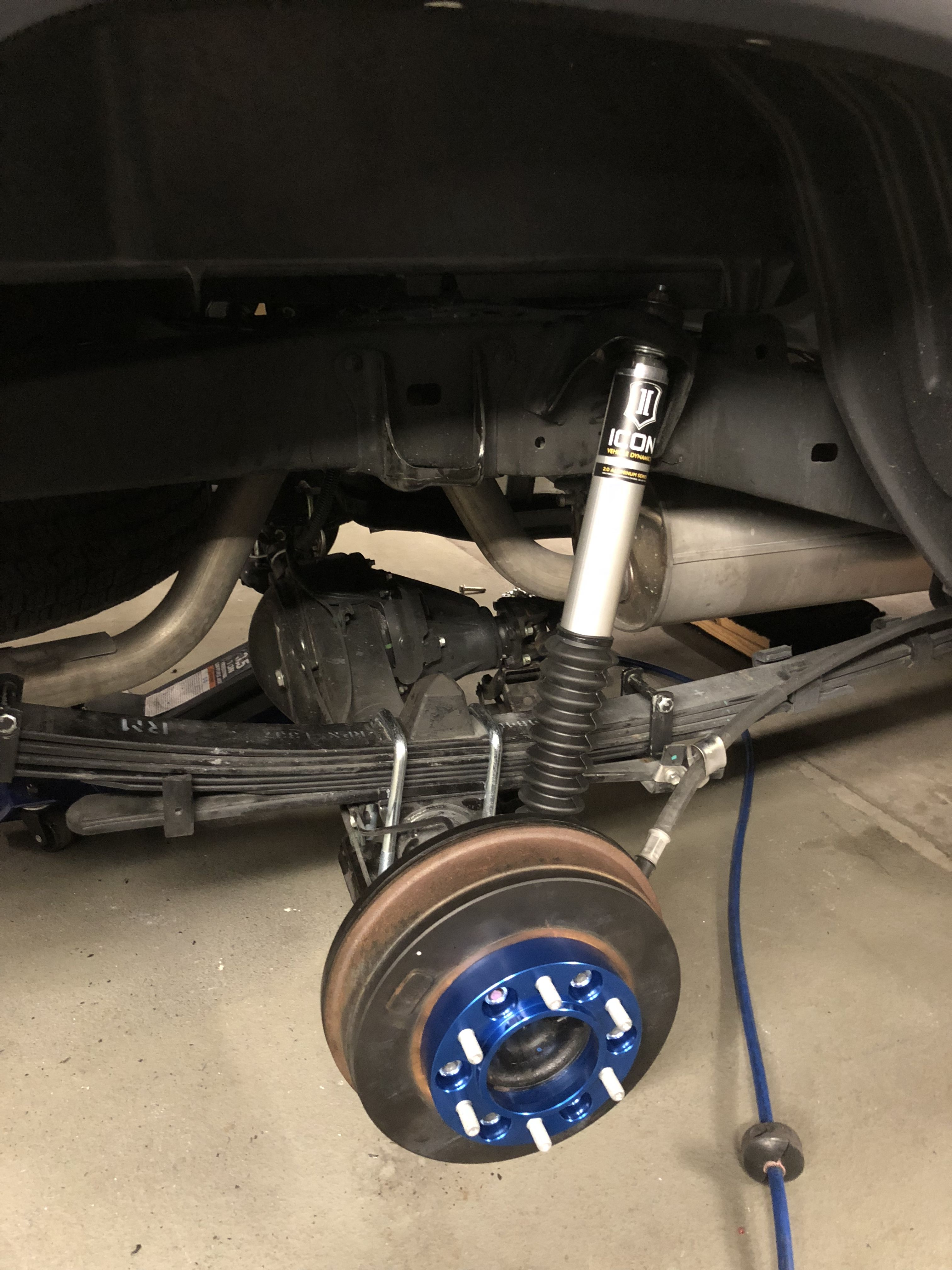 Icon suspension stage one with AAL Toyota